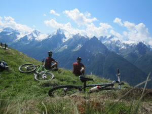 mountainbike transalp online coaching