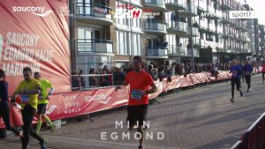 Egmond halve marathon finish 2