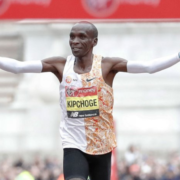 kipchoge goes for sub-2 hour marathon time during 1:59 project