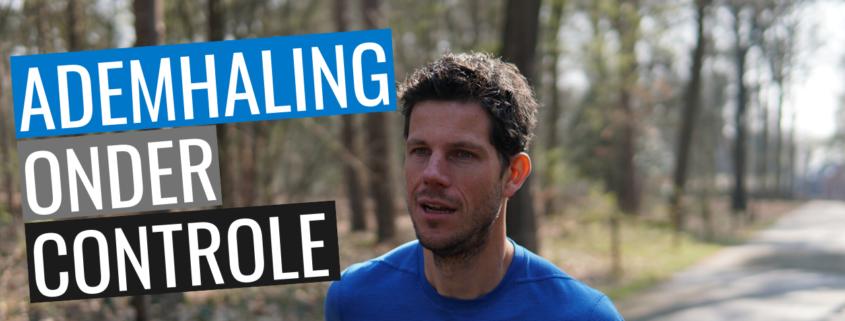 ademhaling onder controle tijdens het hardlopen